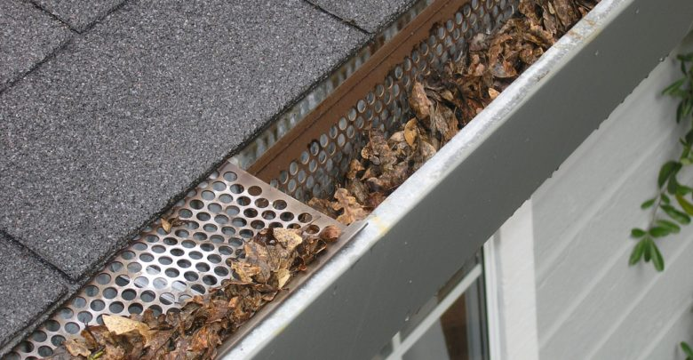 Keeping your gutters cleaned is an important part of roof maintenance.