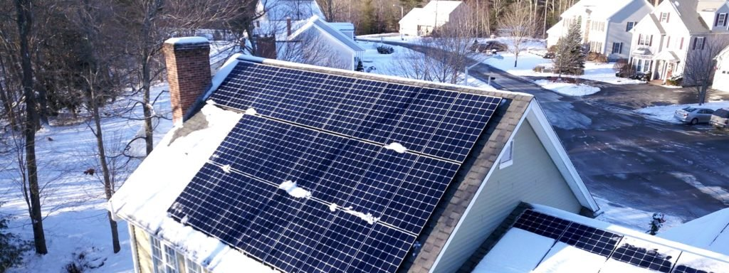 solar and snow, solar energy in snow, do solar panels produce electricity in snow, will solar work in the winter, is solar good for northern states